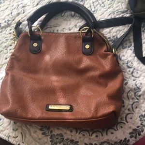 brown Steve Madden purse!